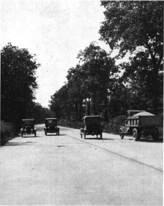 "Early Four-Lane ""Ideal"" Section of Lincoln Highway"